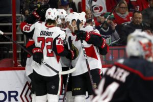 Ryan, Stone lead Senators to 4-1 win over Hurricanes