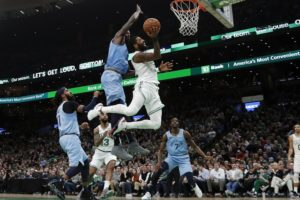 Irving scores 38 points, Celtics beat Grizzlies 122-116