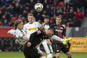 Plea's goal ruins Bosz debut as Gladbach beats Leverkusen