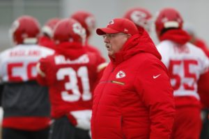 Chiefs suddenly stingy defense gets test in AFC title game