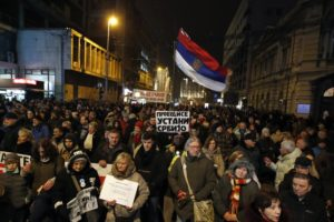 Belgrade protests for 7th week against Serbian leader