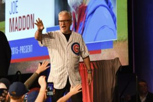 Epstein thinks Maddon will stay with Cubs past this season