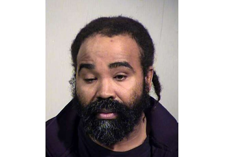 This photo provided by Maricopa County Sheriff's Office shows Nathan Sutherland.  Phoenix police say Sutherland, a licensed practical nurse, has been arrested on a charge of sexual assault of an incapacitated woman who gave birth last month at a long-term health care facility. (Maricopa County Sheriff's Office via AP)