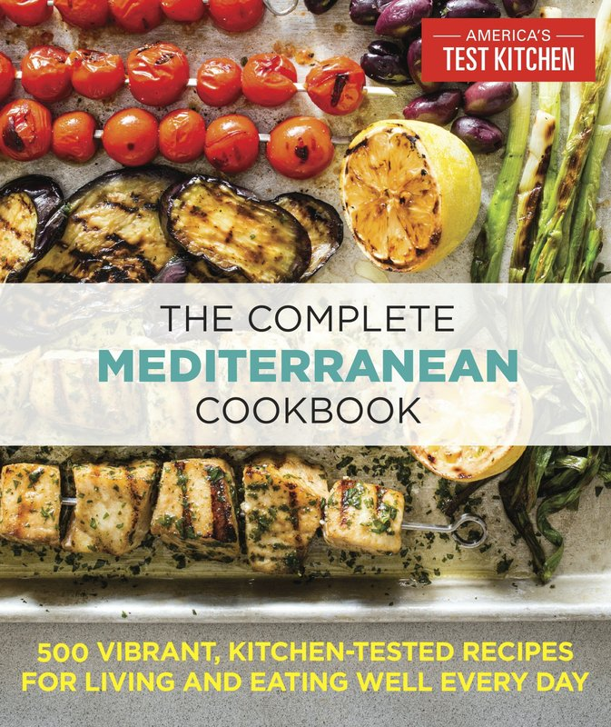 This image provided by America's Test Kitchen in January 2019 shows the cover for the cookbook