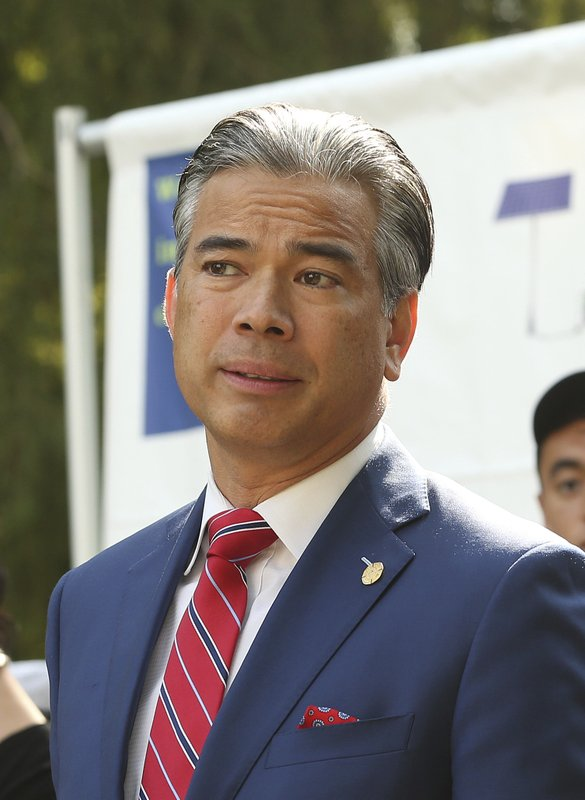 Assemblyman Rob Bonta speaks at an Aug. 22 news conference in Sacramento, Calif. He and other Democratic state lawmakers are proposing major tax cuts for the marijuana industry to jump-start California's sluggish legal marketplace. (AP Photo/Rich Pedroncelli, File)