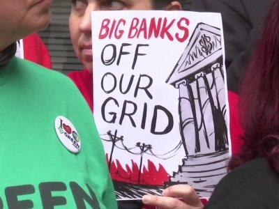 Activists upset over wildfires,protest PG&E bailout