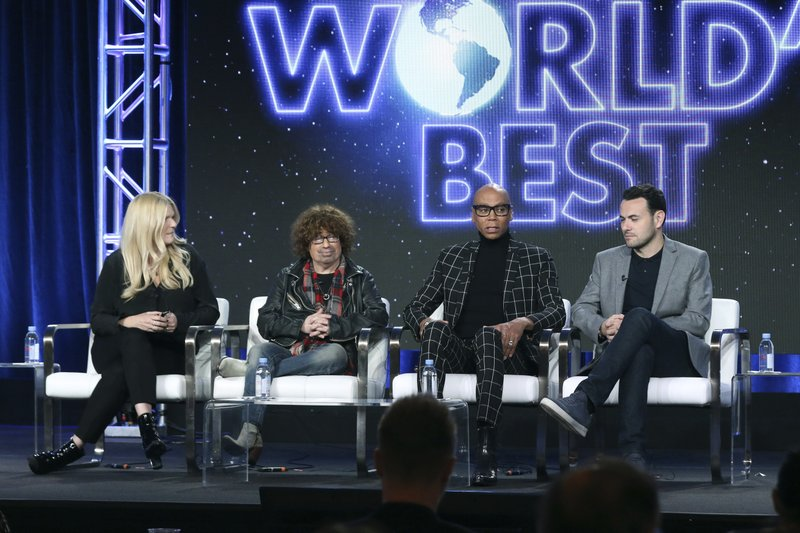 Alison Holloway, from left, Mike Darnell, RuPaul and Ben Winston participate in the