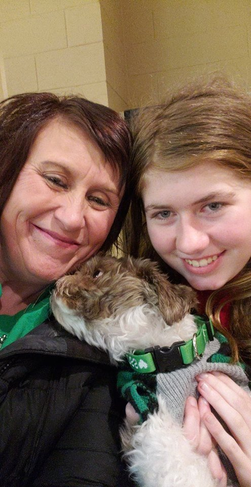 Jayme Closs, right, with her aunt, Jennifer Smith in Barron, Wis. Jake Thomas Patterson, a 21-year-old man killed a Wisconsin couple in a baffling scheme to kidnap Jayme Closs, their teenage daughter, then held the girl captive for three months before she narrowly managed to escape and reach safety as he drove around looking for her, authorities said. (Jennifer Smith via AP)
