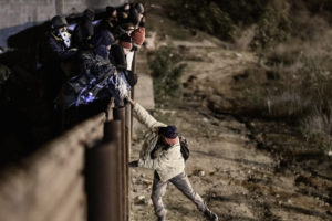 US funds border security in foreign countries, but it's border wall is sued by 16 states