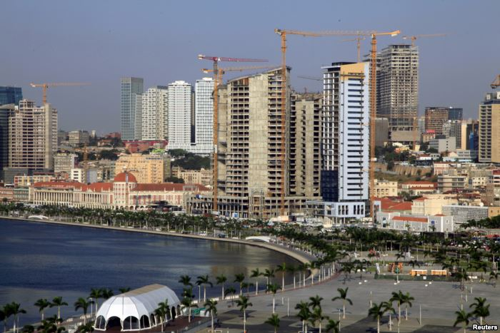 FILE - A general view Luanda, Angola's capital is seen in this picture ta