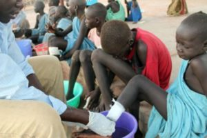 Guinea worm disease could soon be wiped out, experts say