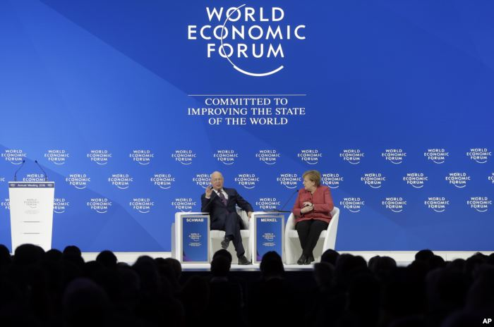 Klaus Schwab, founder and Executive Chairman of the World Economic Forum, tal