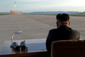 North Korea test-fires a new tactical guided weapon