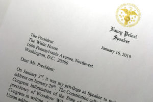 Multiple motives in Pelosi's request to delay State of the Union Address