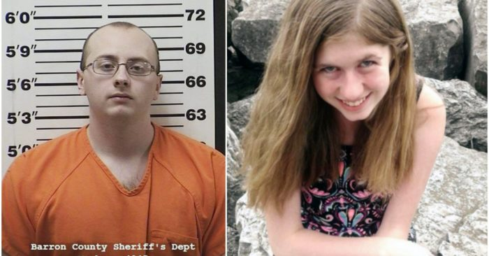 This photo provided by the Barron County Sheriff's Department in Barron, Wis., shows Jake Thomas Patterson, of the Town of Gordon, Wis., who has been jailed on kidnapping and homicide charges in the October killing of a Wisconsin couple and abduction of their teen daughter, Jayme Closs. (Barron County Sheriff's Department via AP)