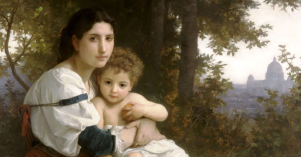 The Painted Beauty of the Mother: The sweet masterpieces of maternal love by William-Adolphe Bouguereau