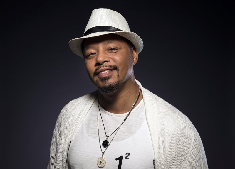 FILE - In this Aug. 8, 2017 file photo, Terrence Howard, a cast member in the FOX series
