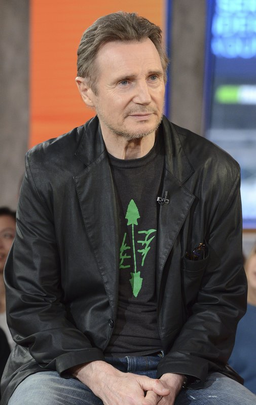 This image released by ABC shows Irish actor Liam Neeson on