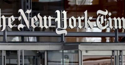 Critics tell NY Times to make its slogan 'All the Propaganda we want to brainwash you with' over its 1619 project