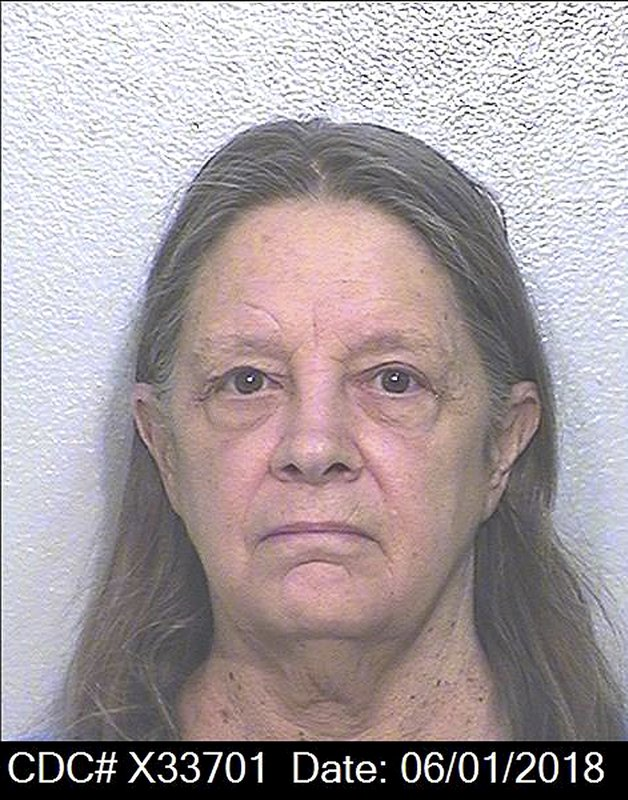 This June 1, 2018 photo released by the California Department of Corrections and Rehabilitation shows Marjorie Knoller. (California Department of Corrections and Rehabilitation via AP)