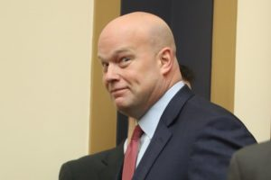 Update: Whitaker cites 'fidelity to the law'