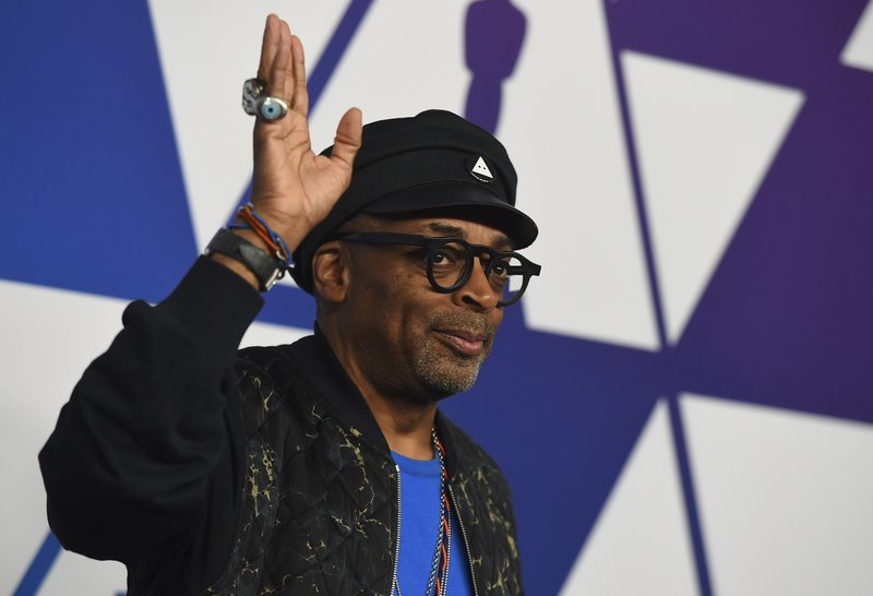 Spike Lee arrives at the 91st Academy Awards Nominees Luncheon on Monday, Feb. 4, 2019, at The Beverly Hilton Hotel in Beverly Hills, Calif. (Photo by Jordan Strauss/Invision/AP)