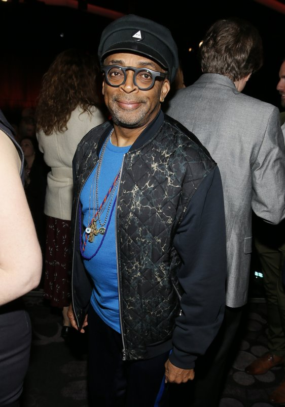 Spike Lee attends the 91st Academy Awards Nominees Luncheon at The Beverly Hilton Hotel on Monday, Feb. (Photo by Danny Moloshok/Invision/AP)