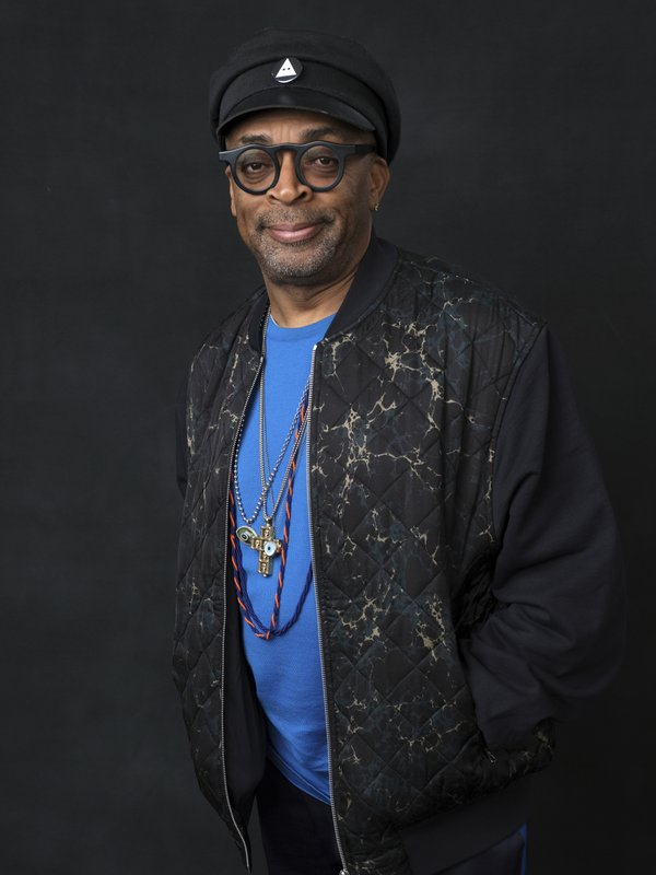 Spike Lee poses for a portrait at the 91st Academy Awards Nominees Luncheon at The Beverly Hilton Hotel on Monday, Feb. (Photo by Chris Pizzello/Invision/AP)