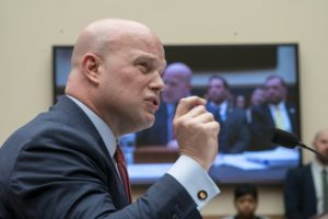 Whitaker has time on his mind under Democratic grilling