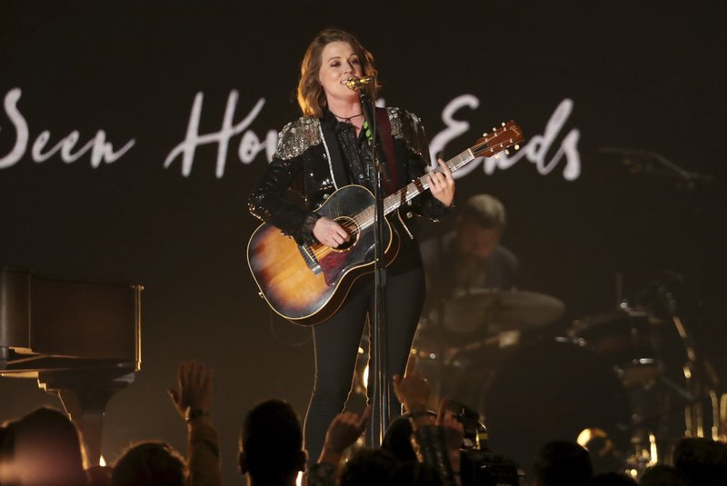 Brandi Carlile performs