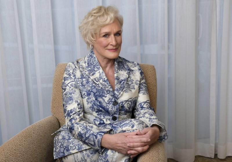 This Feb. 4, 2019 photo shows Glenn Close posing for a portrait at the 91st Academy Awards Nominees Luncheon in Beverly Hills, Calif. (Photo by Chris Pizzello/Invision/AP)