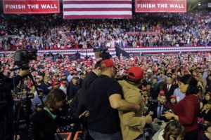 WH press group condemns attack on cameraman at Trump rally