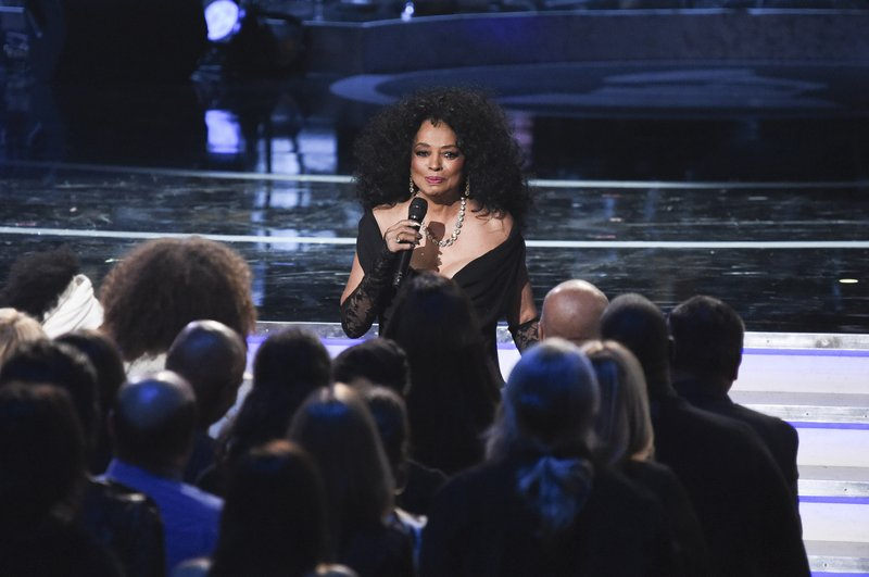 Diana Ross performs during Motown 60: A GRAMMY Celebration at the Microsoft Theater on Tuesday, Feb.12, 2019, in Los Angeles. (Photo by Richard Shotwell/Invision/AP)