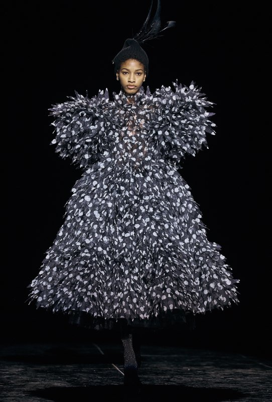 Marc Jacobs collection is modeled by Willow Smith during Fashion Week in New York, Wednesday, Feb. 13, 2019. (AP Photo/Andres Kudacki)