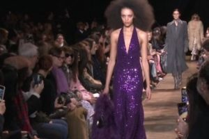 Michael Kors throws a '70s bash fashion show