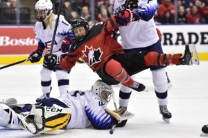 Canadian women beat US 4-3 to tie Rivalry Series