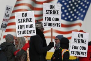 California teachers say announcement on strike coming