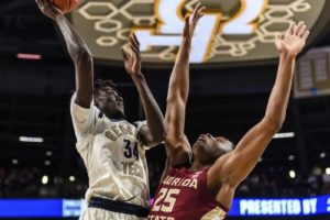 Koumadje leads No. 17 Florida State past Georgia Tech 69-47