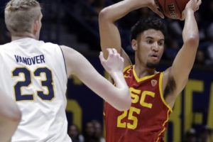 Boatwright sets USC record for 3s in 89-66 win over Cal