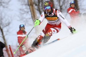 Update: Hirscher wins slalom, leads Austrian clean sweep