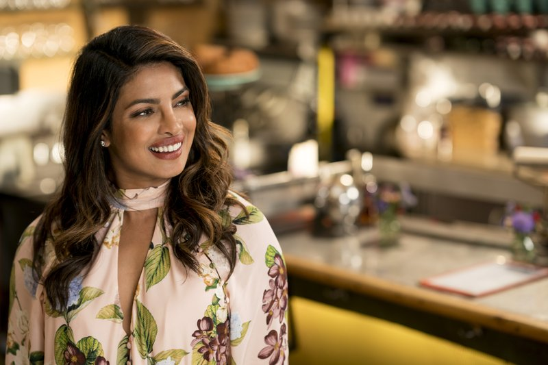 This image released by Warner Bros. Pictures shows Priyanka Chopra in a scene from the film,