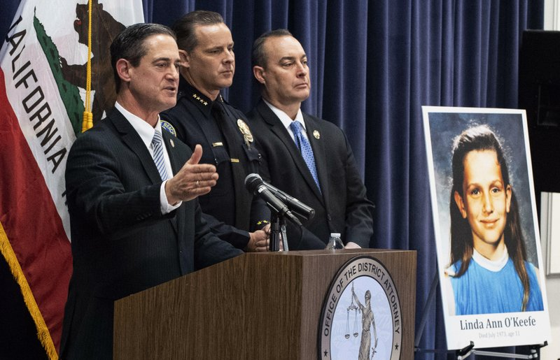 Orange County District Attorney Todd Spitzer speaks during a news conference at the OCDA's office in Santa Ana, Calif. (Paul Bersebach/The Orange County Register via AP)