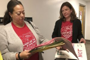 Oakland teachers walking out of district with more than 36,000 students over unlivable salaries