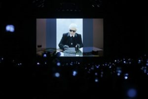 Fendi honors Lagerfeld and fashion's 'longest love story'
