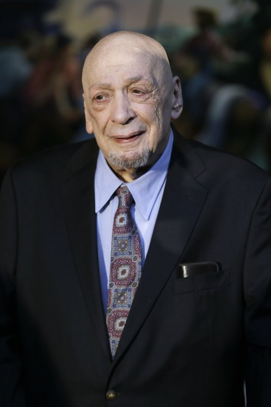 FILE - In this March 29, 2016 file photo, producer and label owner Fred Foster attends the announcement of the Country Music Hall of Fame inductees in Nashville, Tenn. (AP Photo/Mark Humphrey, File)