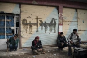Sporadic clashes with remaining IS militants in Syria