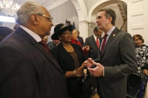 Virginia Gov. Northam meets with civil rights leaders