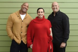 Dwayne Johnson goes indie with 'Fighting With My Family'