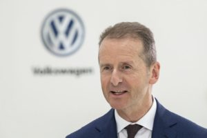Volkswagen CEO expects stiffer headwinds after 'decent' 2018