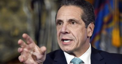 "Cuomo says late abortion an  ""historic victory for New Yorkers"""